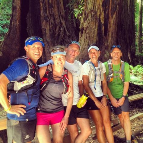 8.25.13 , d. the gang in muir woods