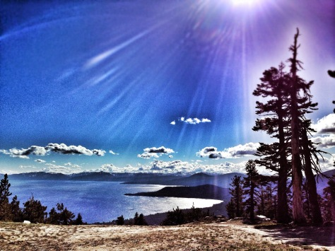 the view from the Diamond Peak Climb