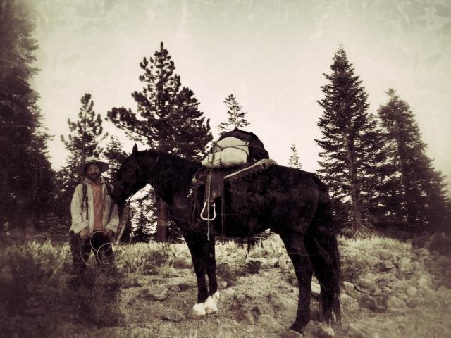 Steve (man) and Gabriel (horse)