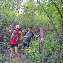 who's super duper excited to be on the Western States Trail???