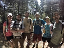 We ran into these super cool people, who were scouting out locations for trail work days