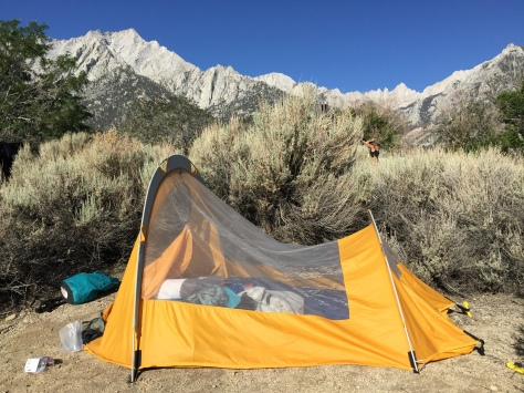 my beautiful campsite