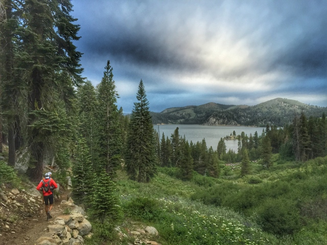 nearing Marlette Lake