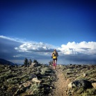 around Marlette Peak, mile 55 ish. picture by Angela