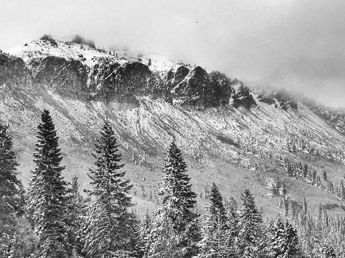 Fall Equinox/ First Snow – Truckee, CA