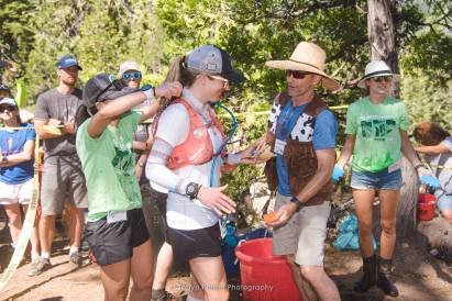 Duncan Canyon Aid Station, 2018 Western States 100 - Photo by Tonya Perme